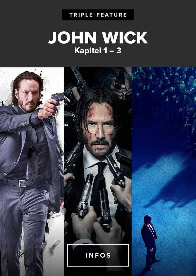 Triple Feature: John Wick (Poster)