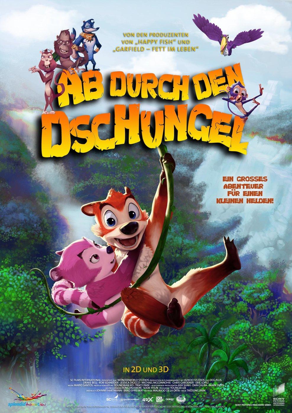 Ab durch den Dschungel (Poster)
