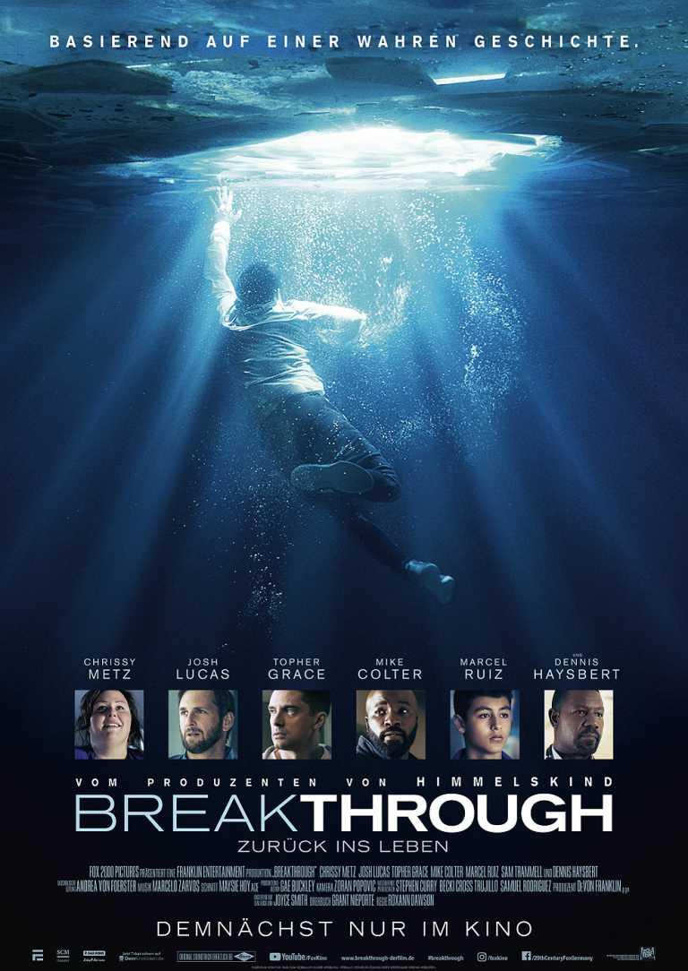 Breakthrough - Zurück ins Leben (Poster)