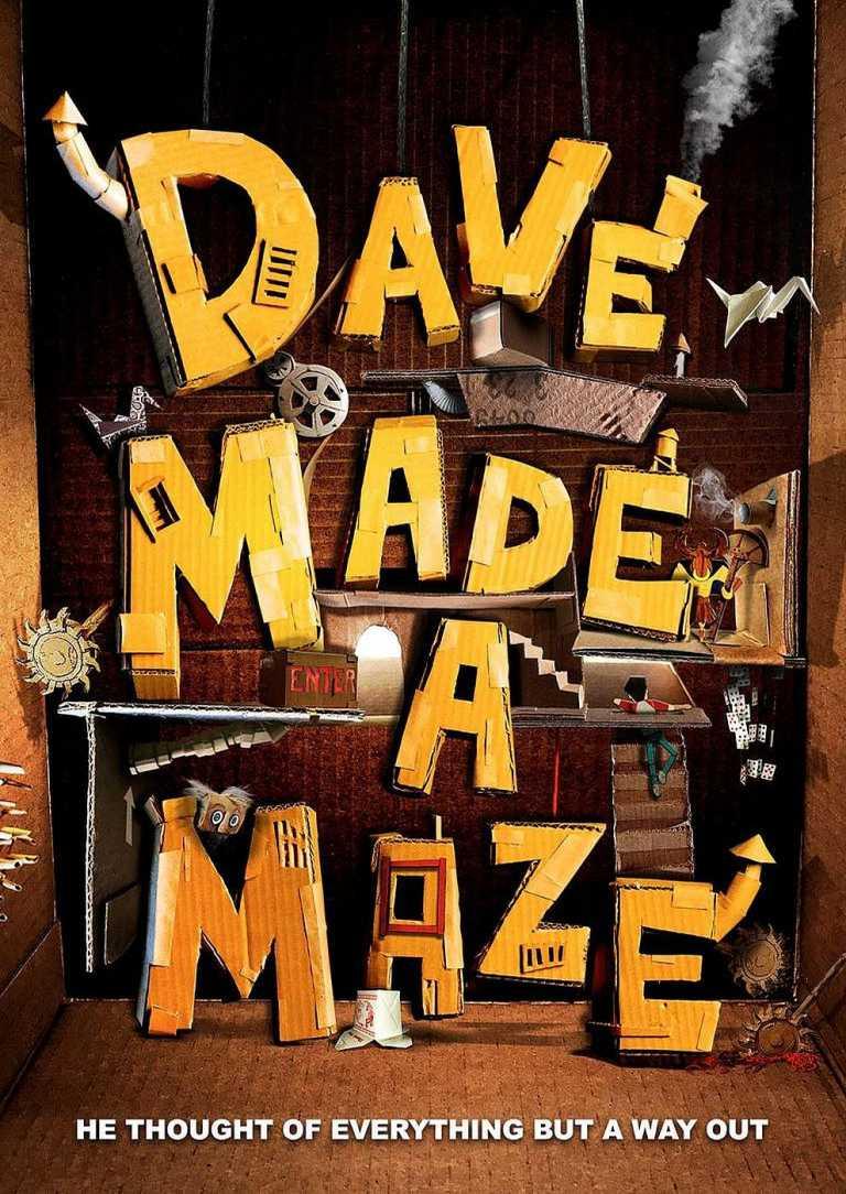 Dave Made a Maze (Poster)