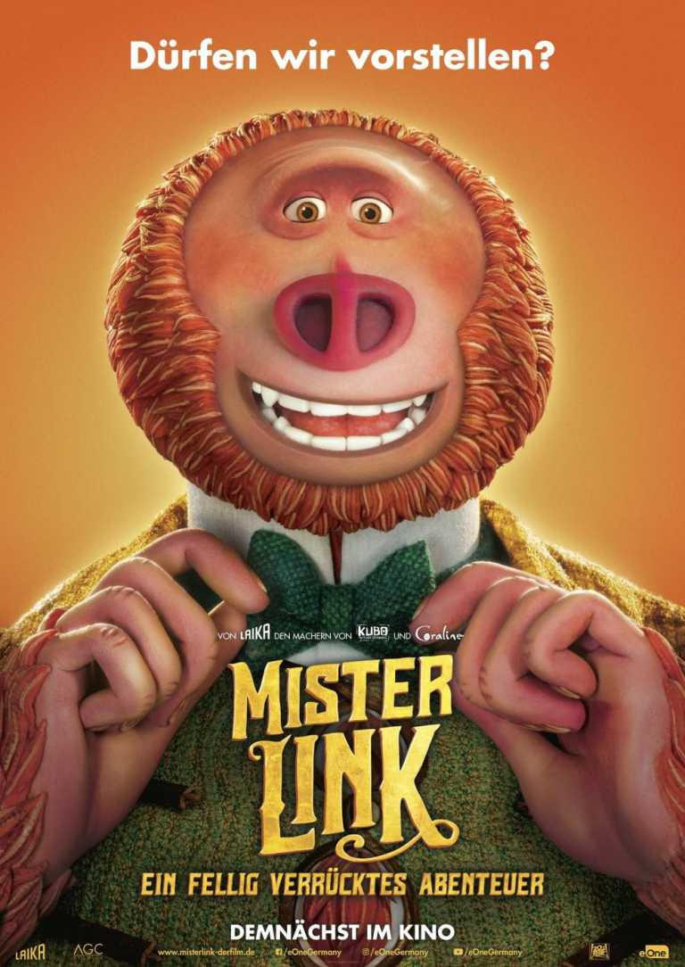 Mister Link - Ein fellig verrücktes Abenteuer (Poster)