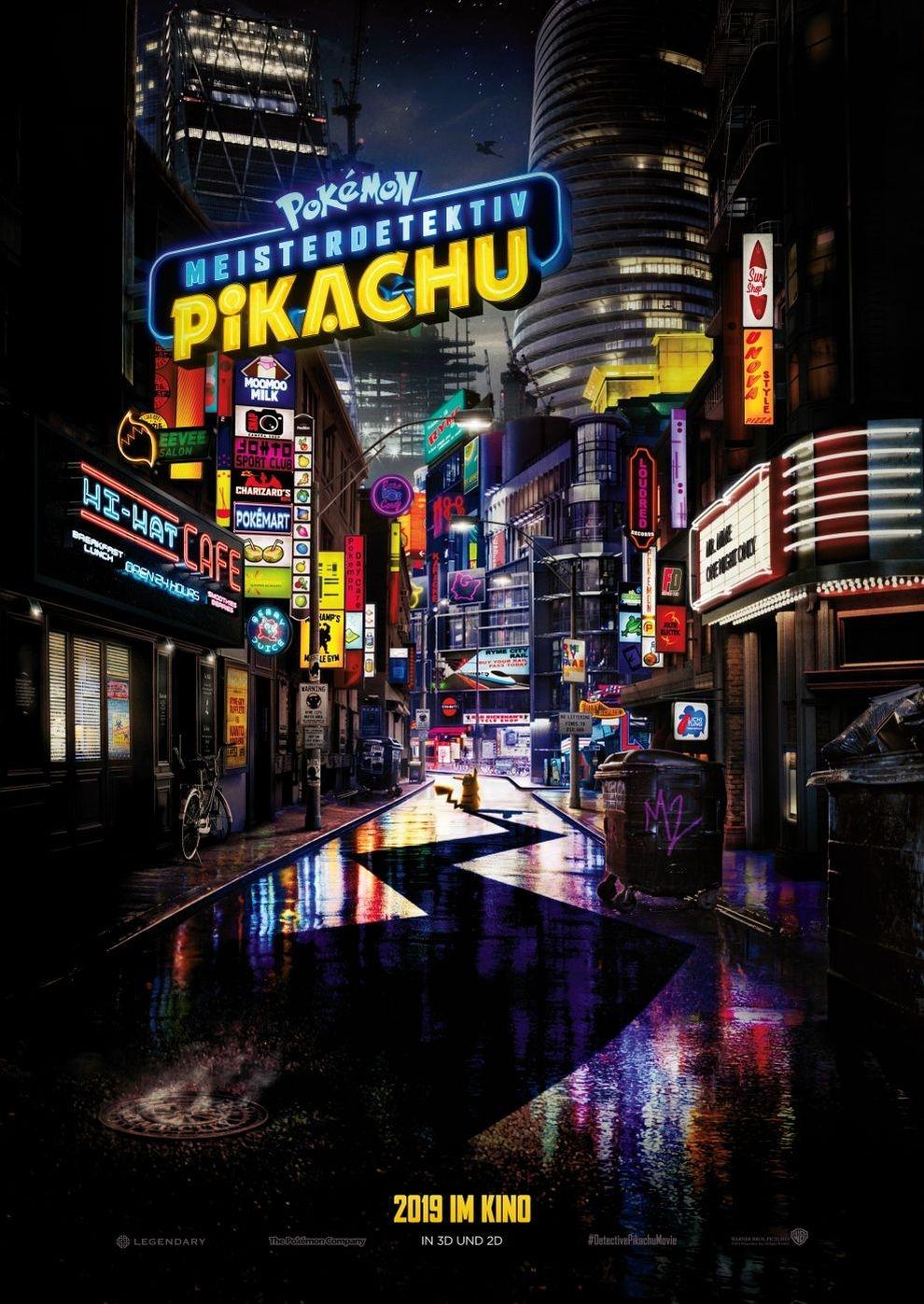 Pokémon Meisterdetektiv Pikachu (Poster)