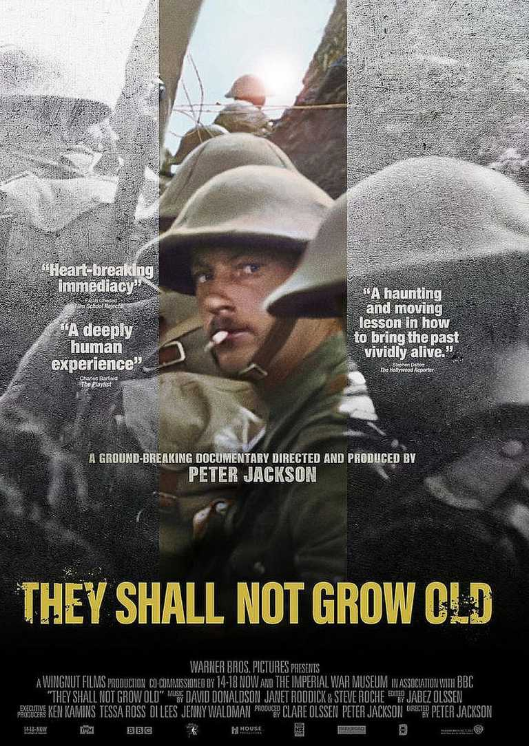 They Shall Not Grow Old (Poster)