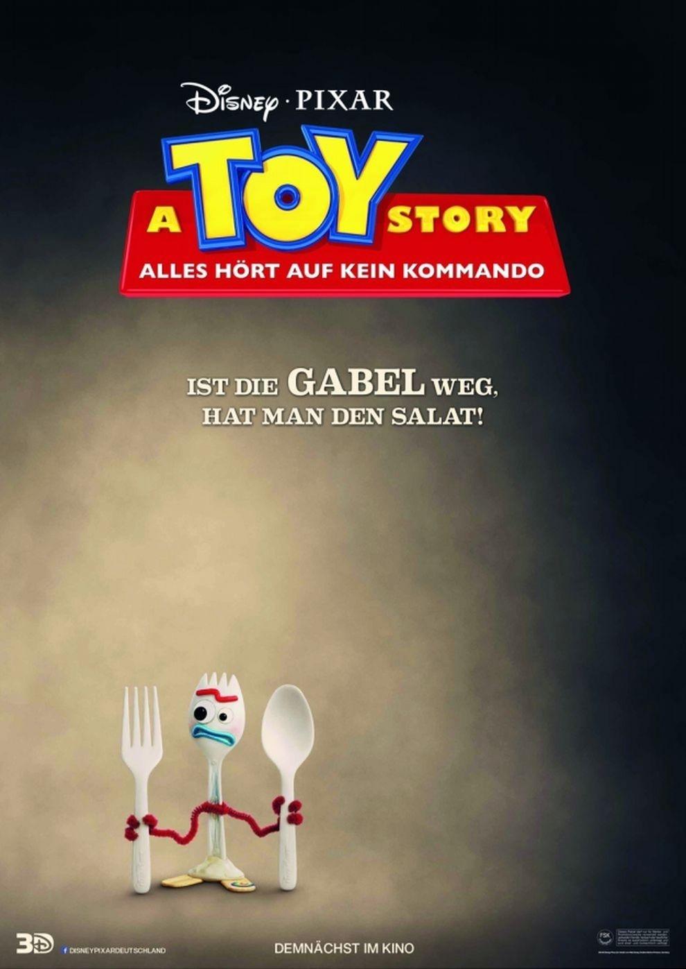 A Toy Story: Alles hört auf kein Kommando (Poster)