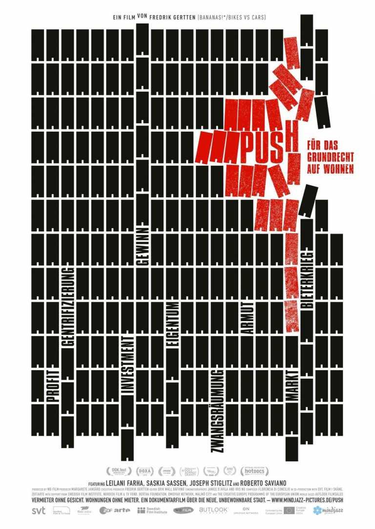 PUSH - Für das Grundrecht auf Wohnen (Poster)