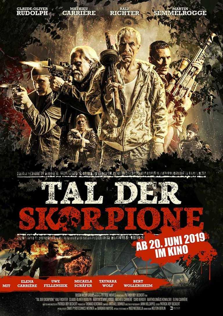 Tal der Skorpione (Poster)
