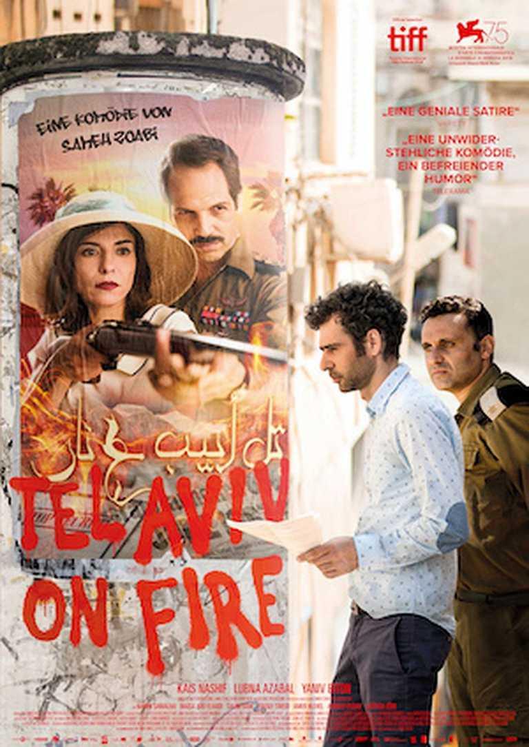Tel Aviv on Fire (Poster)