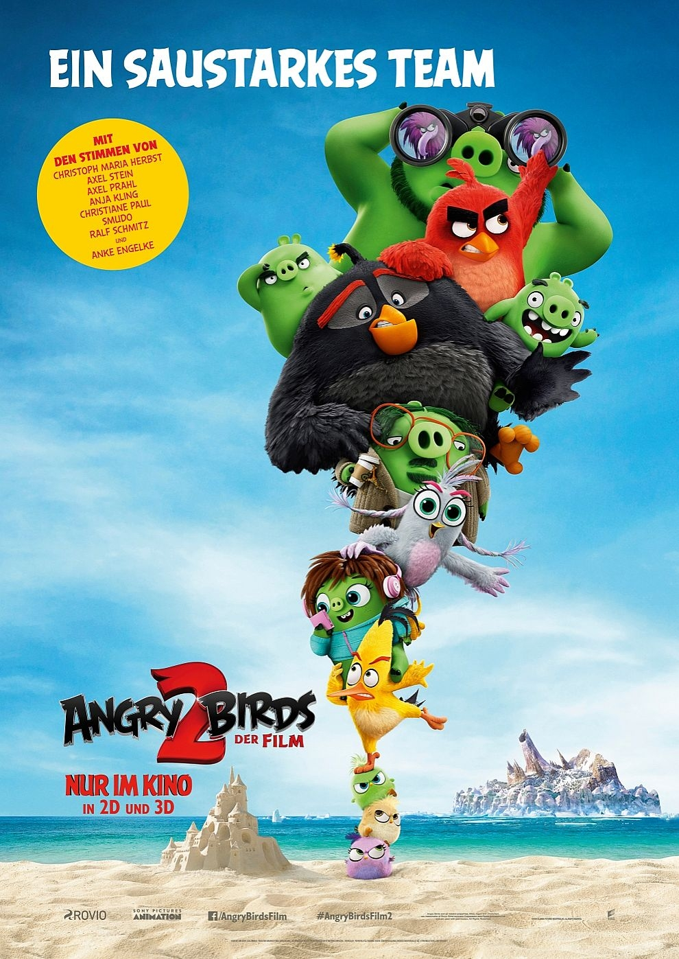 Angry Birds 2 - Der Film (Poster)