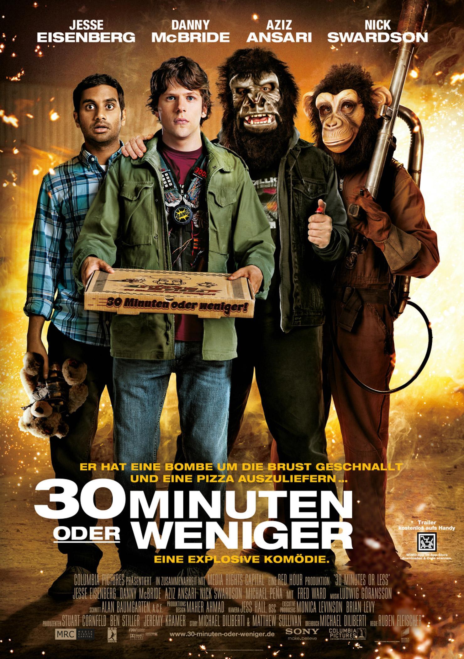 30 Minuten oder weniger (Poster)