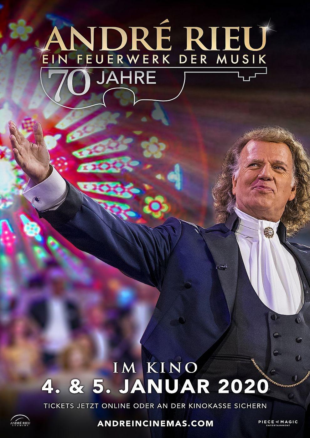 André Rieu: 70 Jahre - Ein Feuerwerk der Musik (Poster)