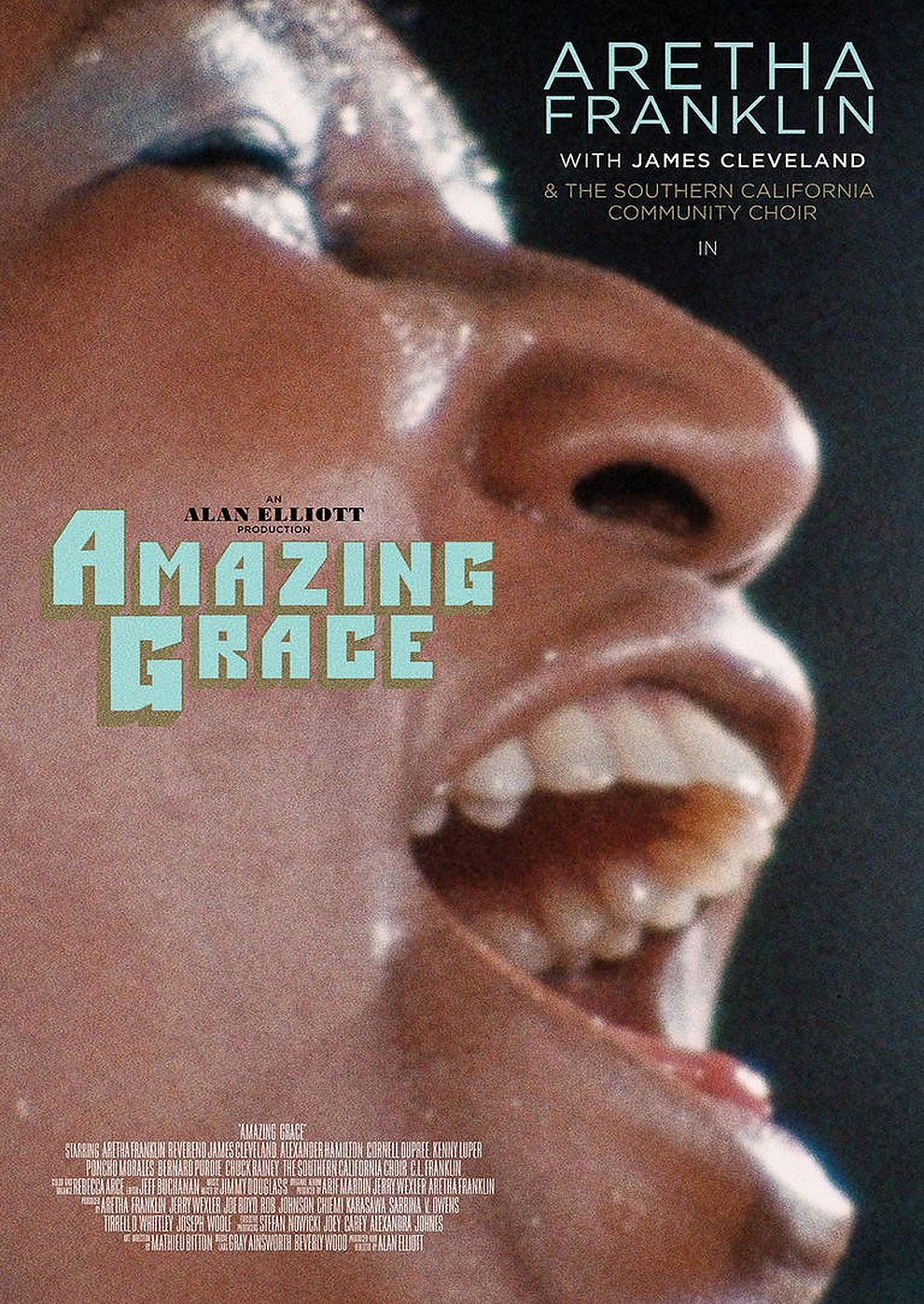Aretha Franklin: Amazing Grace (Poster)