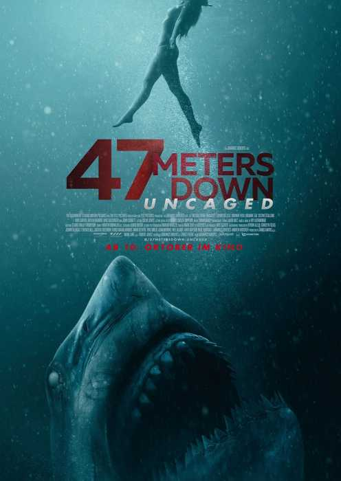 47 Meters Down: Uncaged (Poster)
