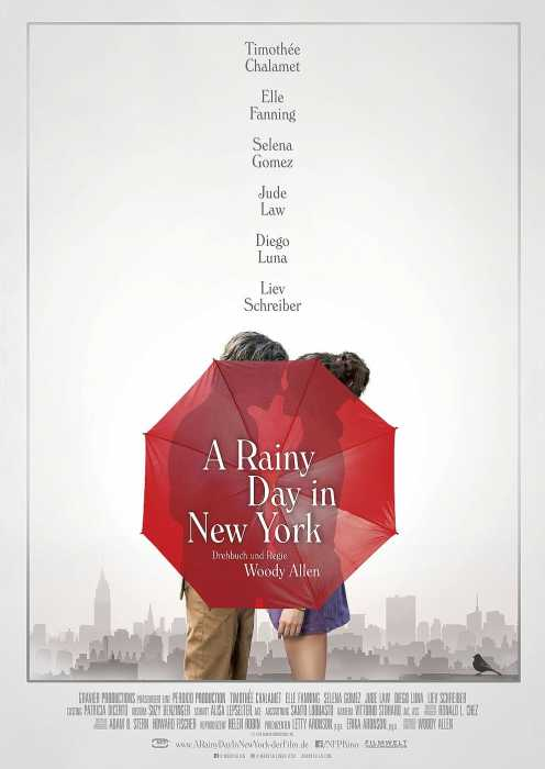 A Rainy Day in New York (Poster)