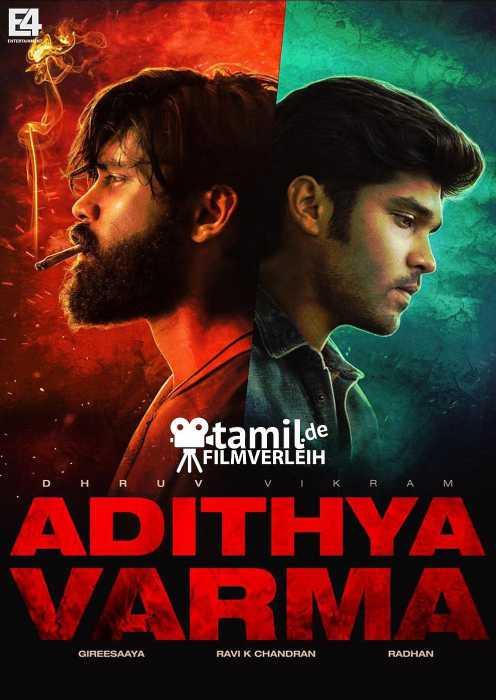 Adithya Varma (Poster)