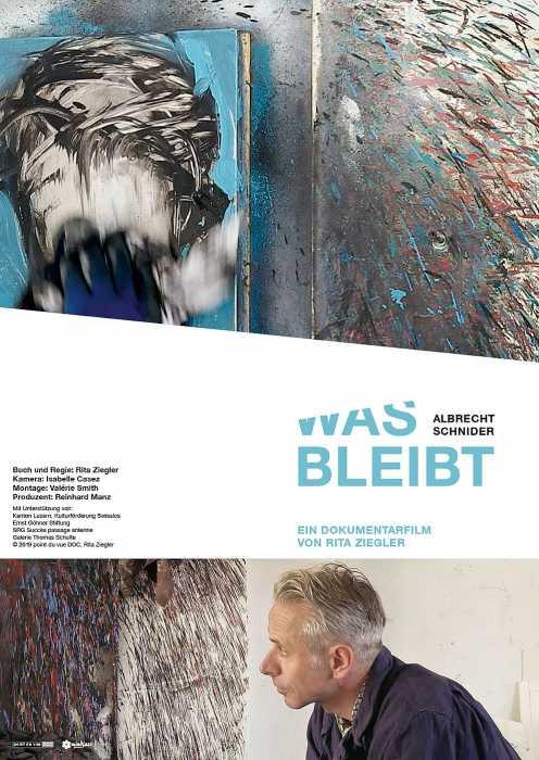 Albrecht Schnider - Was bleibt (Poster)
