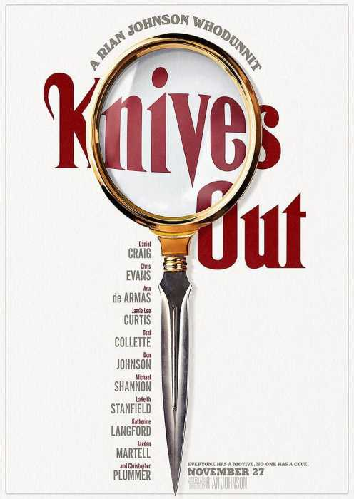 Knives Out - Mord ist Familiensache (Poster)