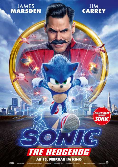Sonic the Hedgehog (Poster)