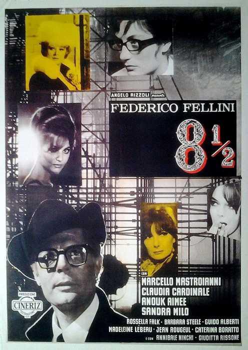 8 1/2 - Achteinhalb (Poster)