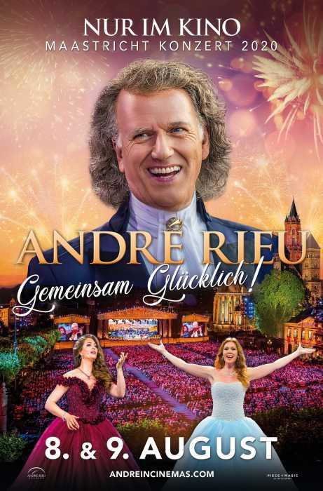 André Rieu - Maastricht-Konzert 2020: Gemeinsam Glücklich! (Poster)