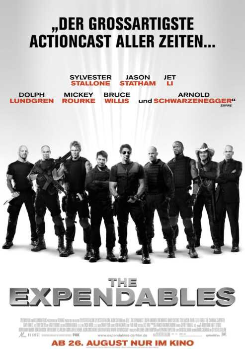 The Expendables (Poster)