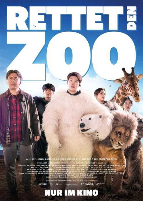 Rettet den Zoo (Poster)