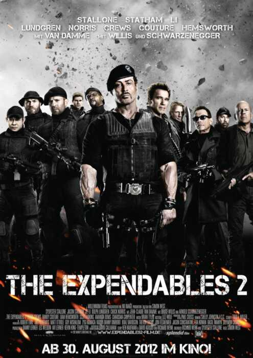 The Expendables 2 (Poster)