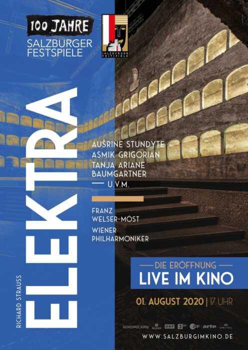 100 Jahre Salzburger Festspiele: Elektra (Poster)