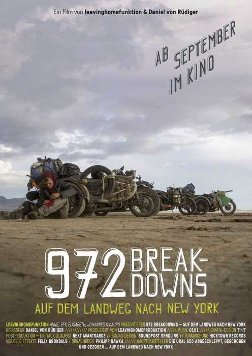 972 Breakdowns - Auf dem Landweg nach New York (Poster)