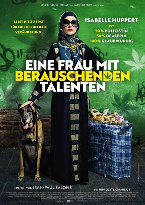 Eine Frau mit berauschenden Talenten (Poster)