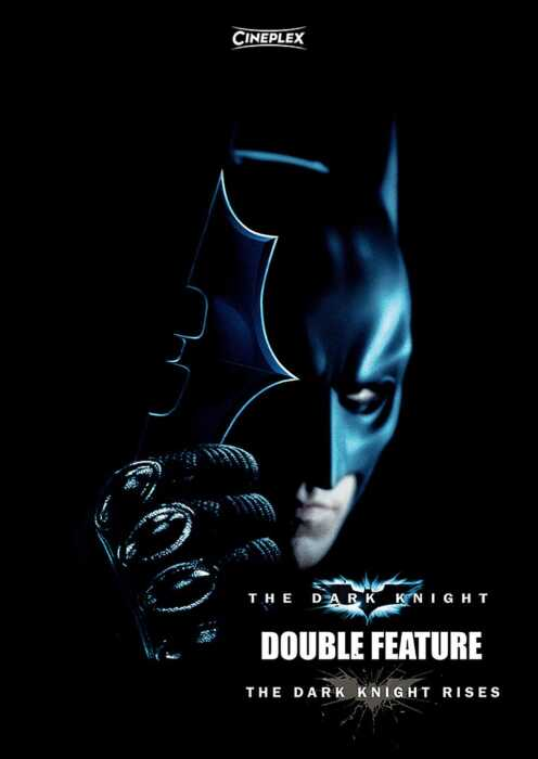 The Dark Knight Double Feature (Poster)