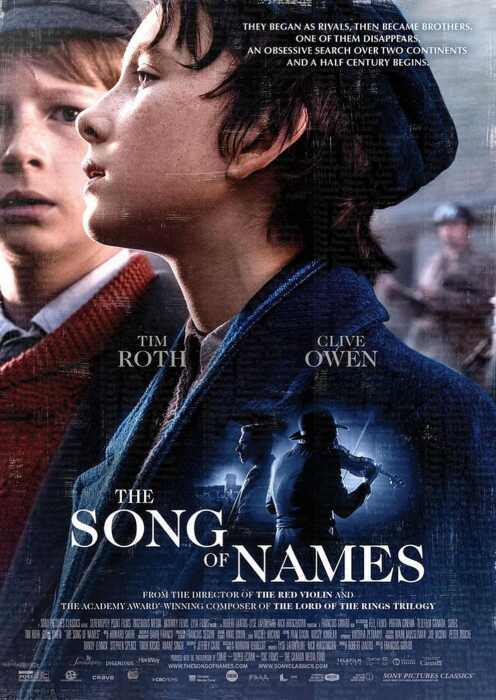 The Song of Names (Poster)