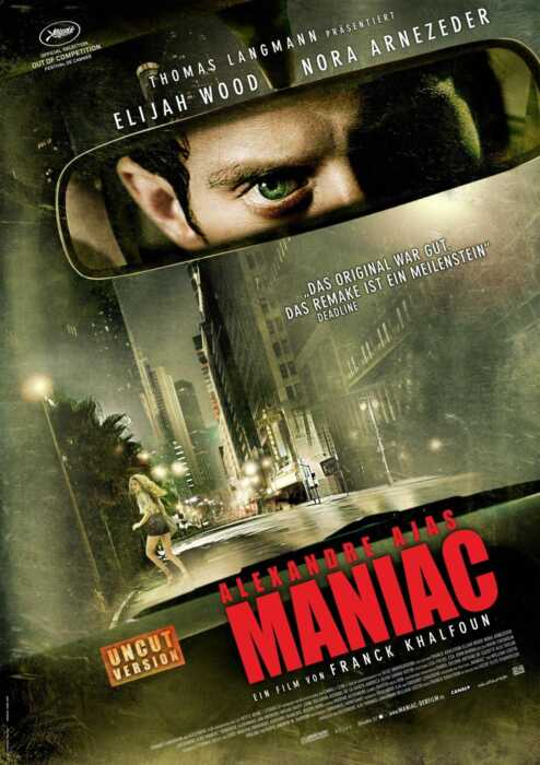 Alexandre Ajas Maniac (Poster)