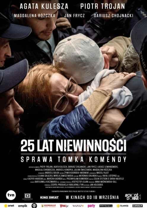 25 lat niewinnosci. Sprawa Tomka Komendy (Poster)