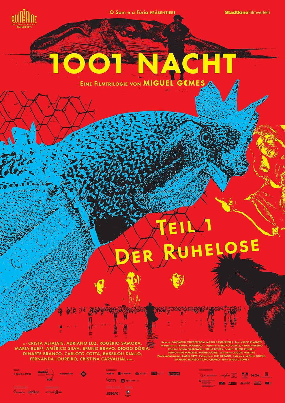 1001 Nacht - Teil 1: Der Ruhelose (Poster)