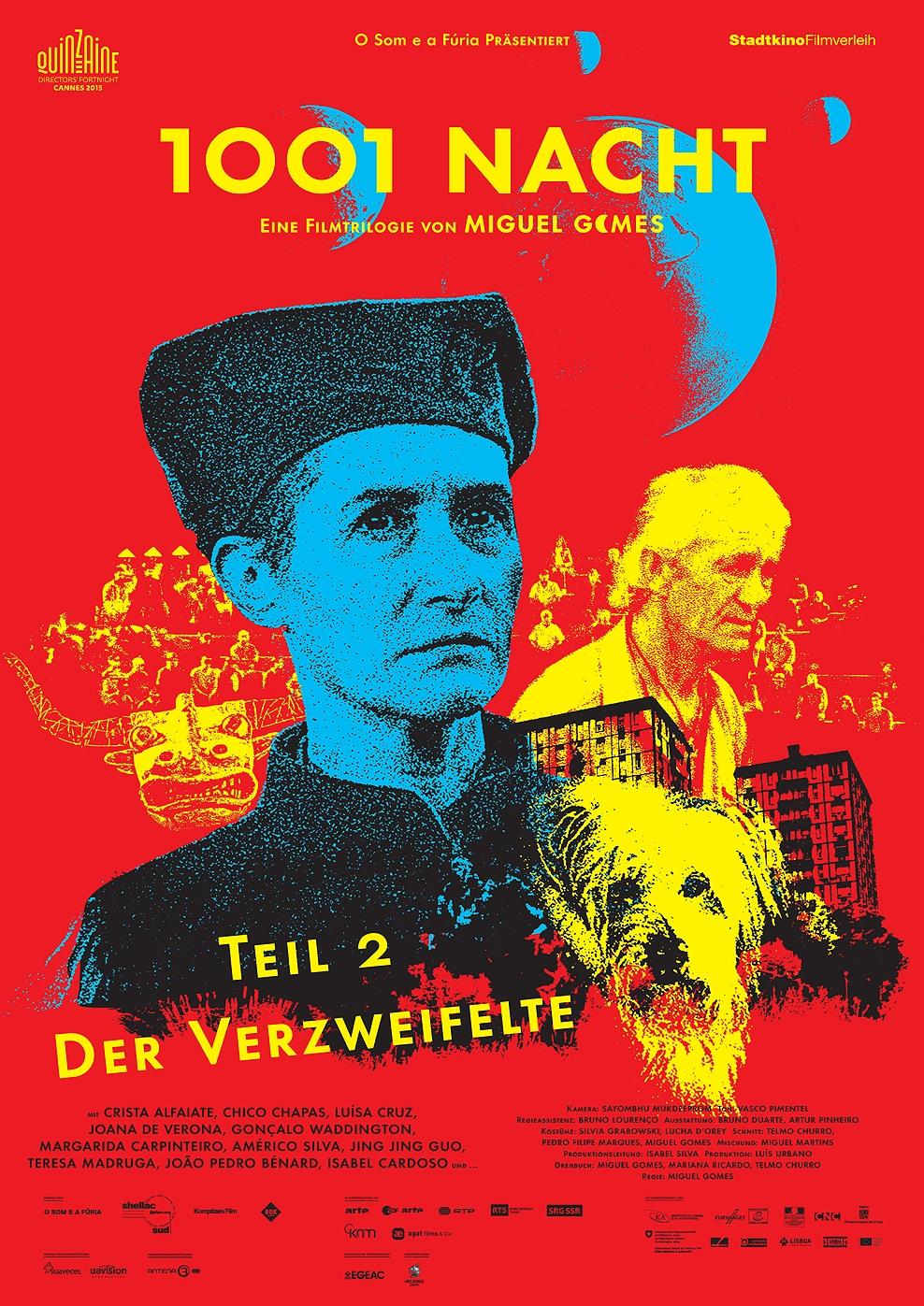 1001 Nacht - Teil 2: Der Verzweifelte (Poster)