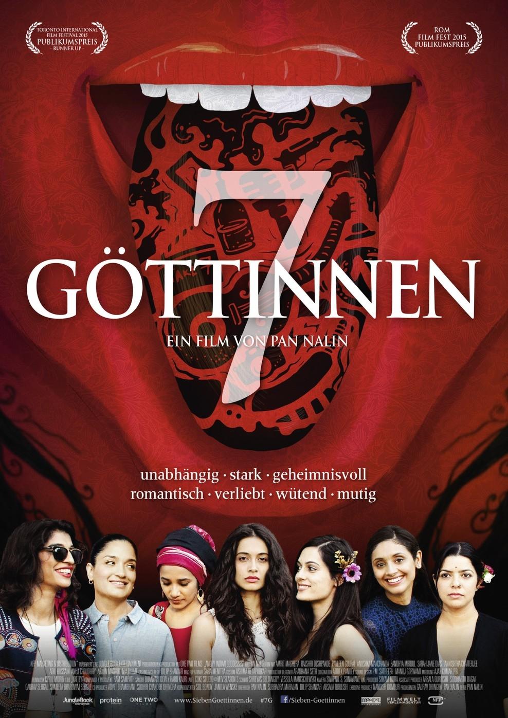 7 Göttinnen (Poster)