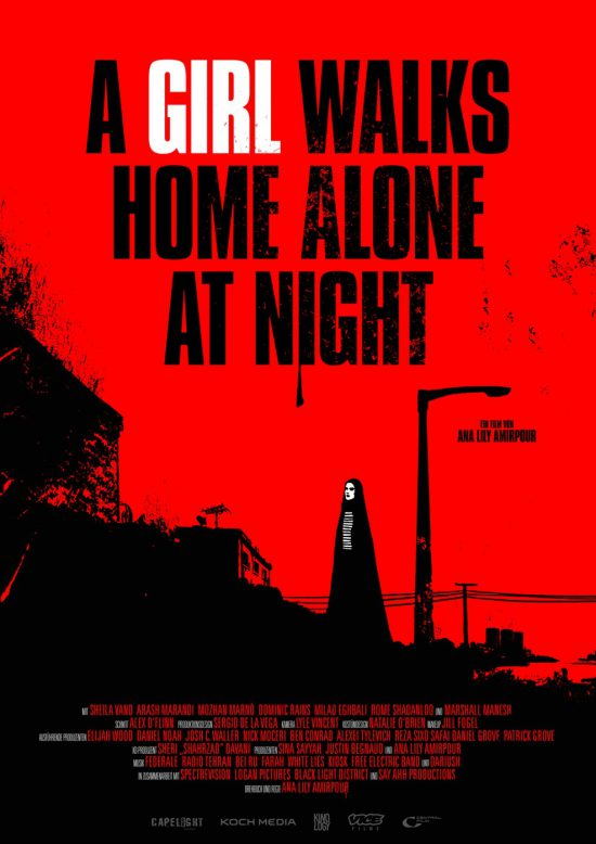 A Girl walks home alone at Night (Poster)