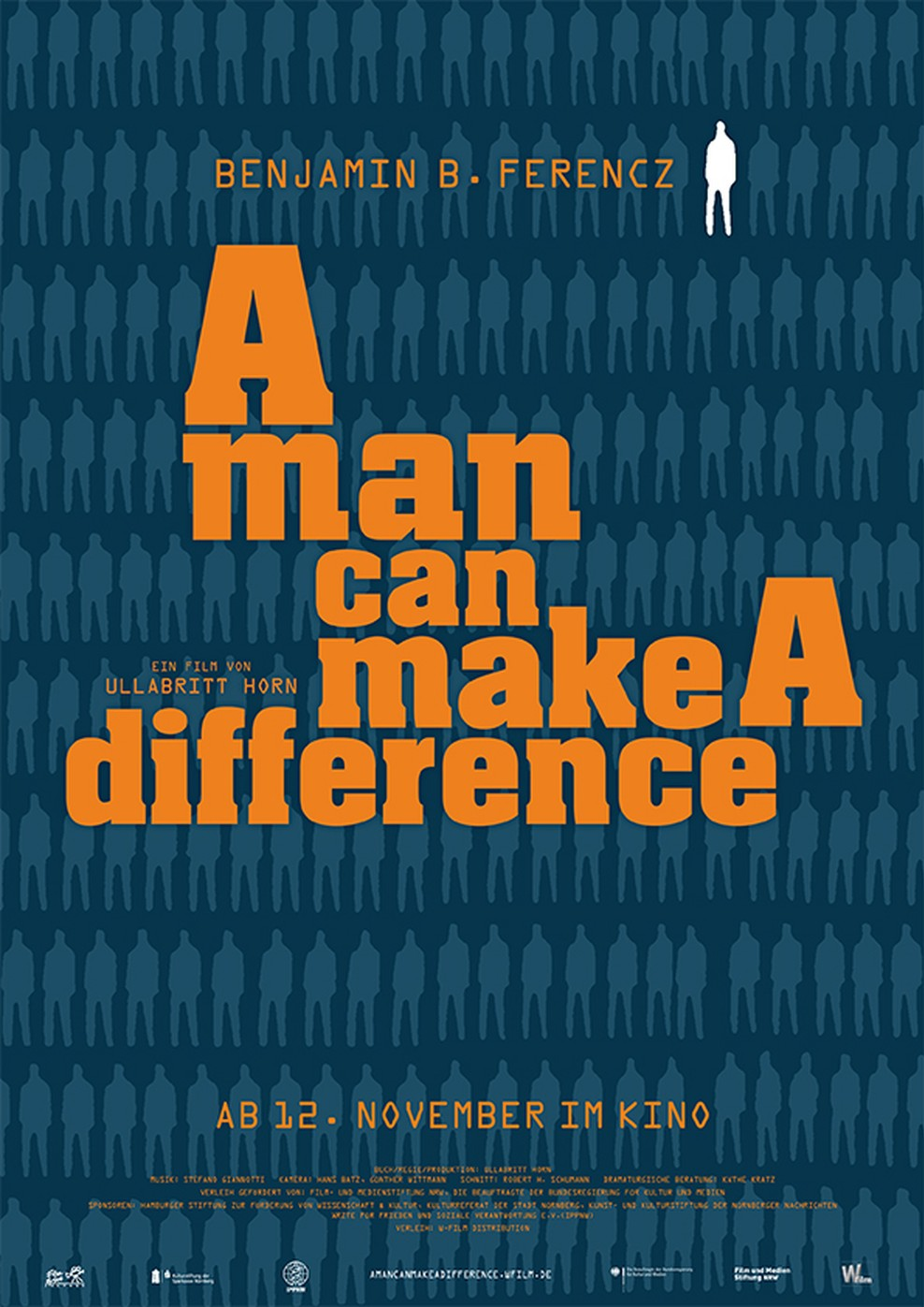 A man can make a difference (Poster)