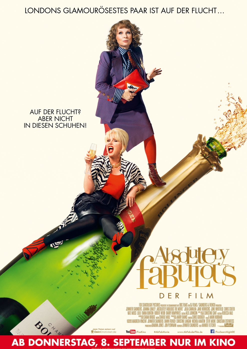 Absolutely Fabulous - Der Film (Poster)