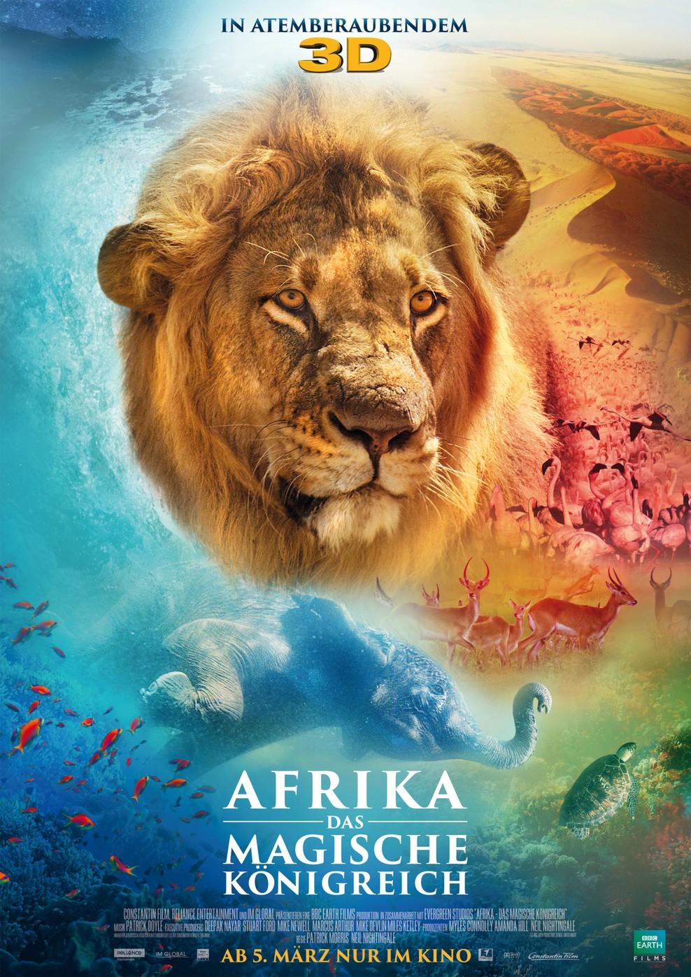 Afrika - Das magische Königreich (Poster)