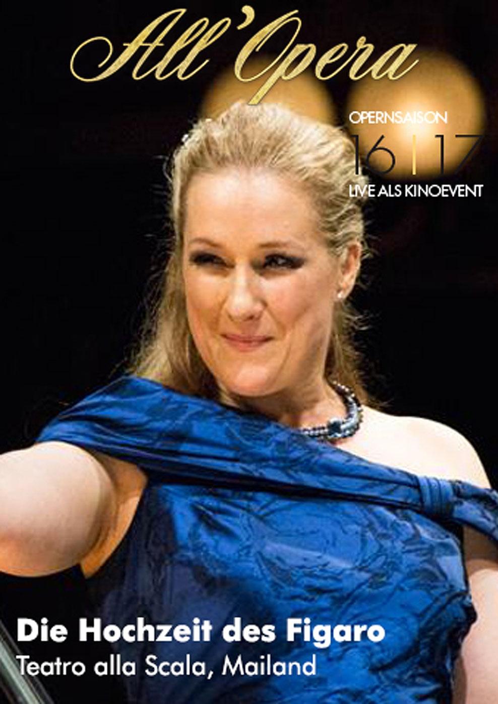 All Opera 16/17: Die Hochzeit des Figaro (Live) (Poster)