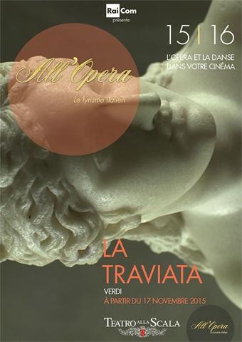 All Opera 2015/2016: La Traviata (Verdi) - La Scala (Poster)