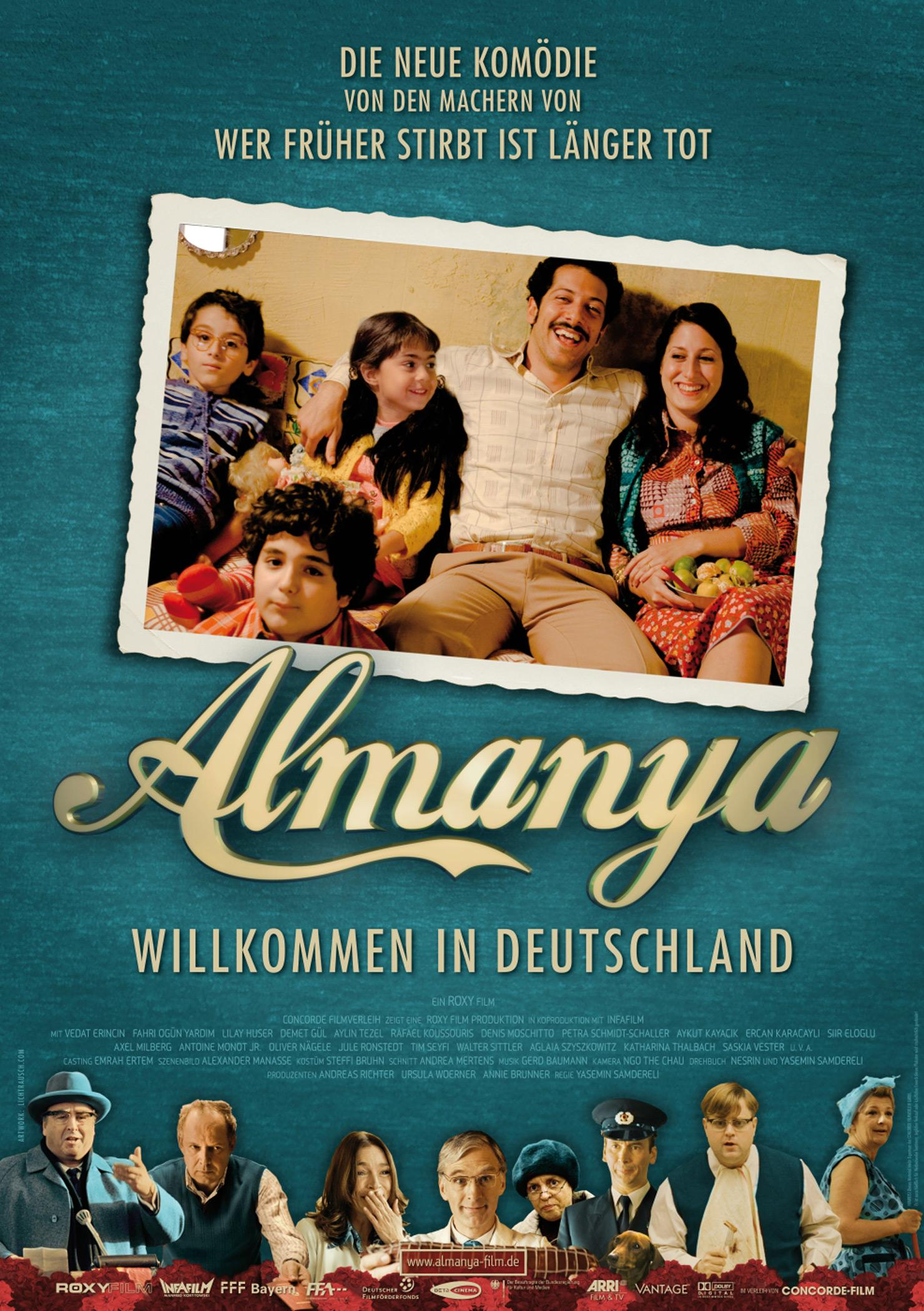 Almanya - Willkommen in Deutschland (Poster)