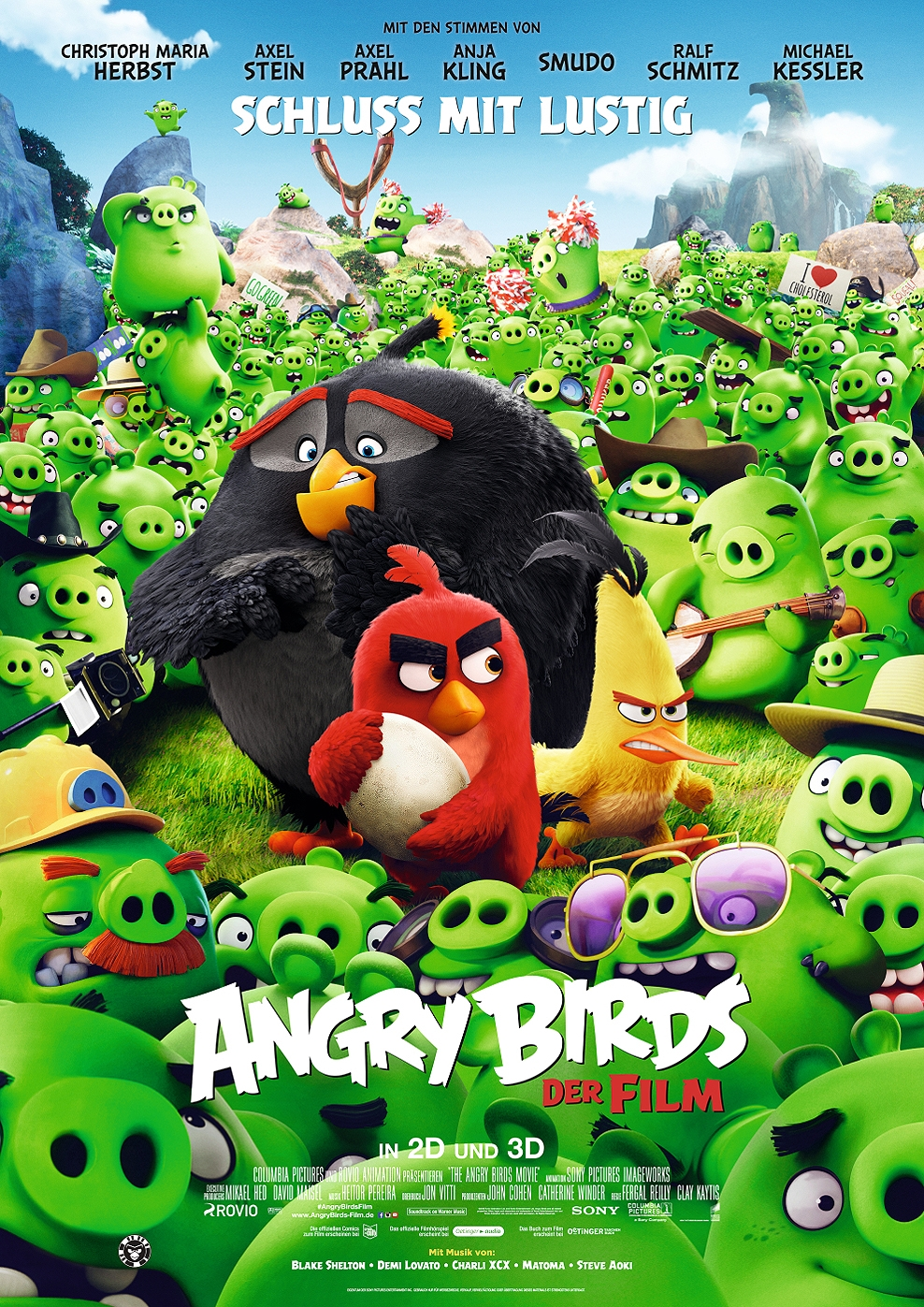 Angry Birds - Der Film (Poster)