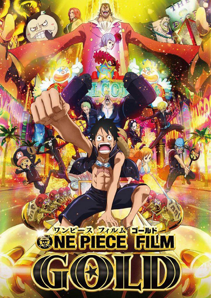 Filminfo Anime Night One Piece Gold OmU