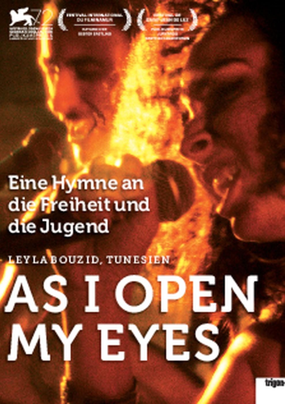 As I Open My Eyes - Kaum öffne ich die Augen (Poster)