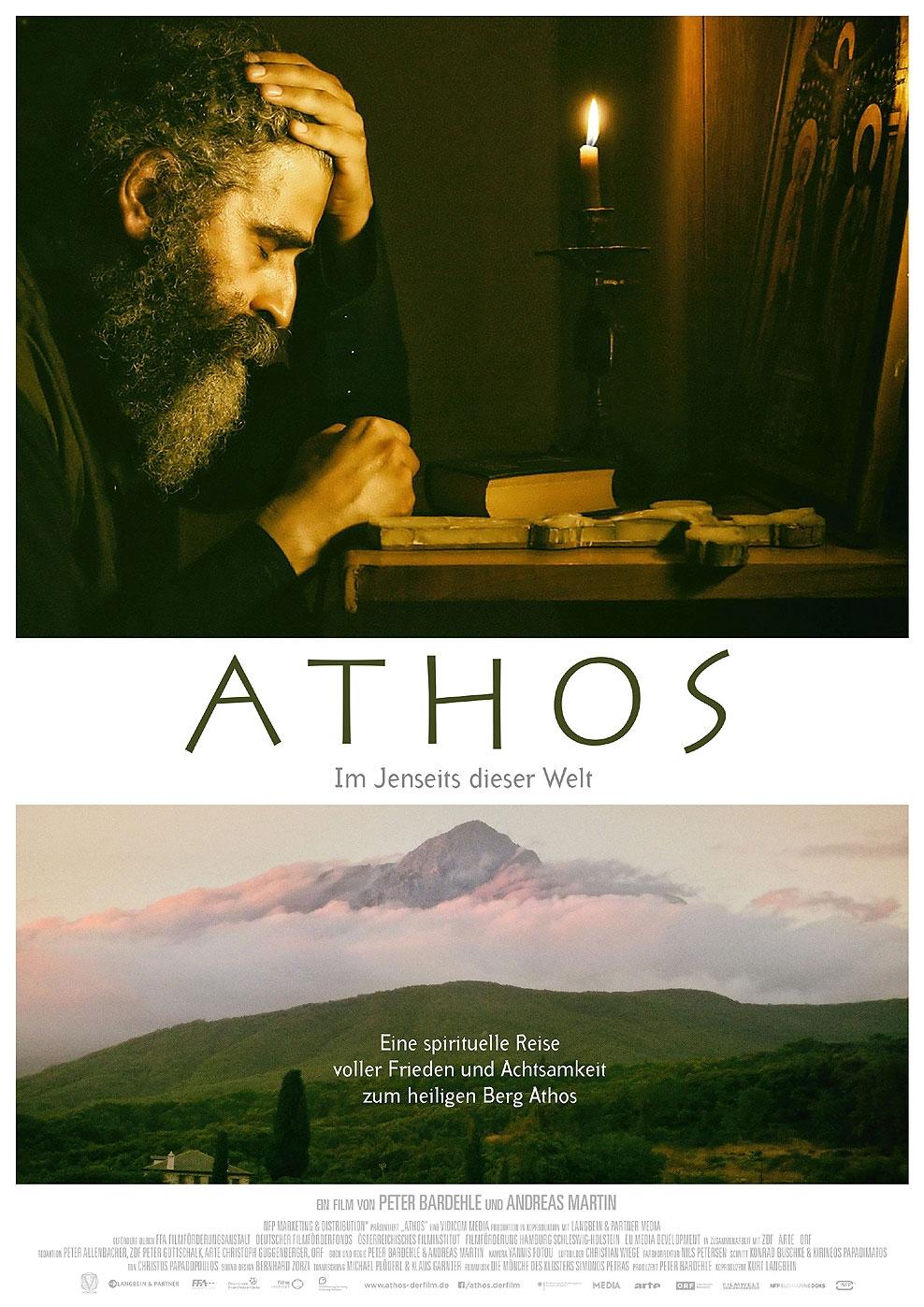 Athos - Im Jenseits dieser Welt (Poster)