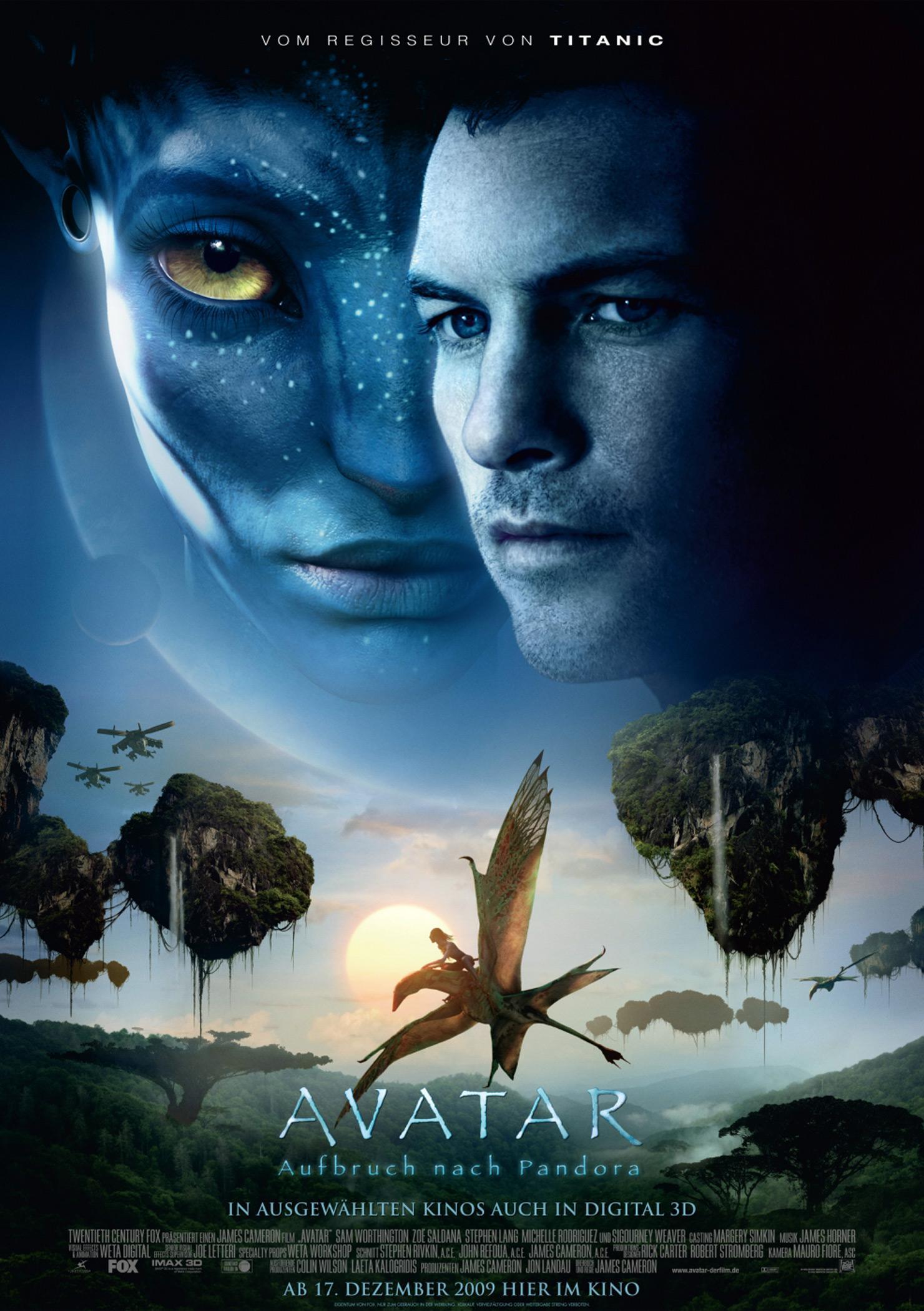 Avatar - Aufbruch nach Pandora (Poster)