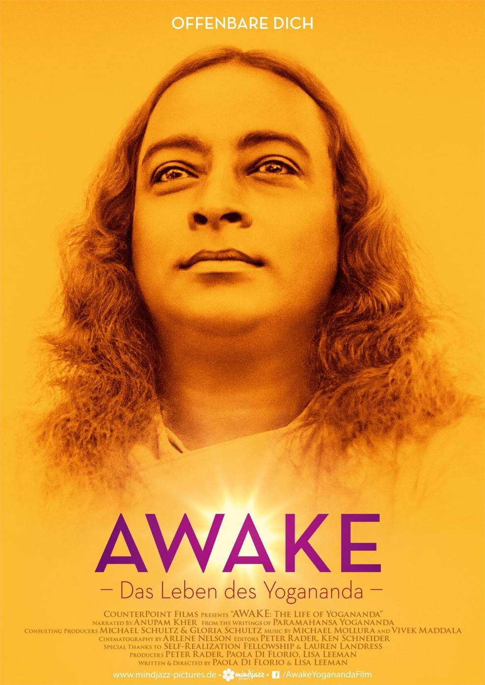 Awake - Das Leben des Yogananda (Poster)