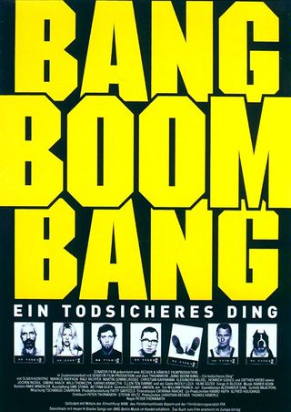 Bang Boom Bang - Ein todsicheres Ding (Poster)